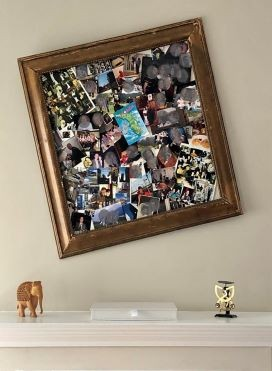 image of picture frame hanging on wall